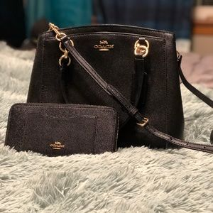 Coach Minetta Bag and wallet